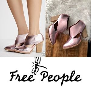Free People Heeled Bootie. Size 10
